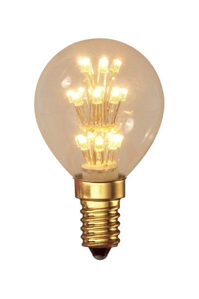 Calex E14 Lâmpadas LED 1W (10W) (Bulbo, Transparente)