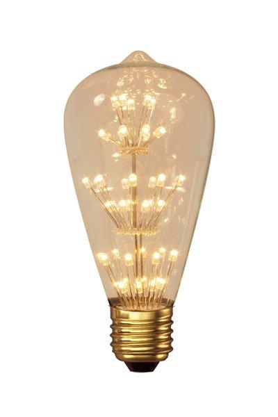 Calex E27 LED Lamp 2W (25W) (Pear, Clear)