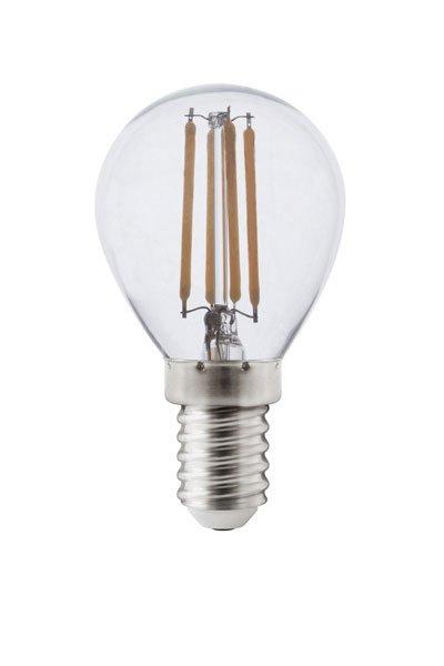 Calex E14 LED pærer 4W (40W) (Lustre, Klar, Dæmpbar)