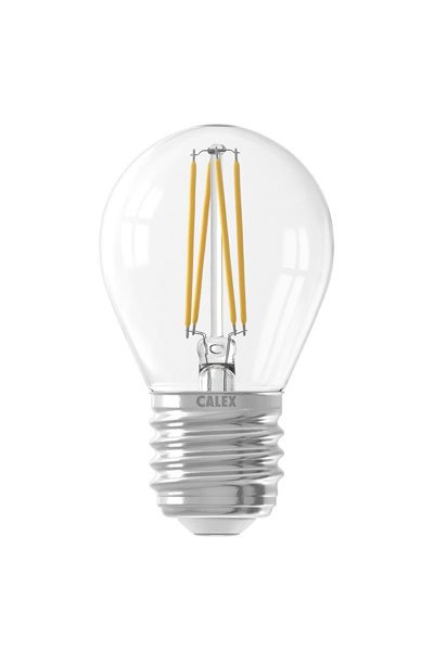 Calex E27 Светодиодные лампы 4W (40W) (Люстра, Прозрачный, Регулировка яркости)