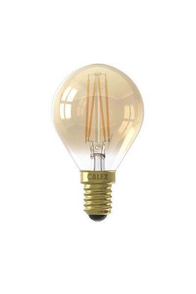 Calex E14 Lâmpadas LED 3,5W (20W) (Bulbo, Transparente, Regulável)