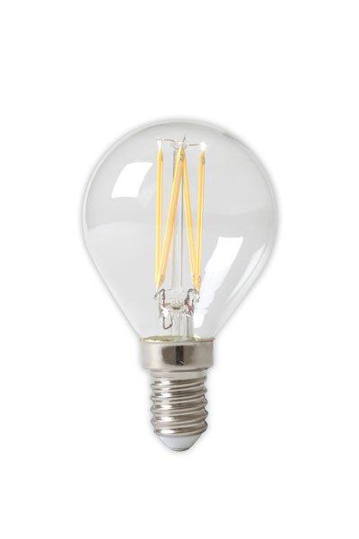 Calex E14 LED pærer 3,5W (35W) (Lustre, Klar, Dæmpbar)