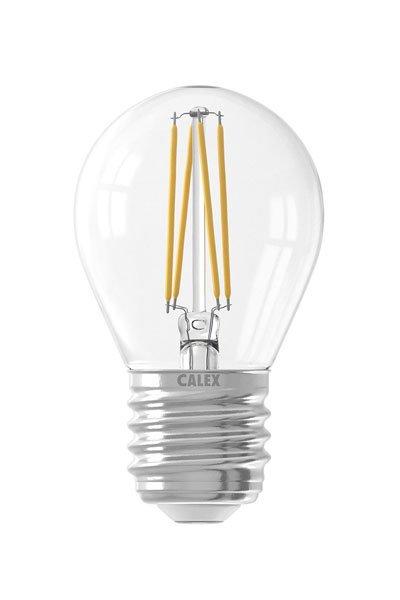 Calex E27 Светодиодные лампы 3,5W (35W) (Люстра, Прозрачный, Регулировка яркости)
