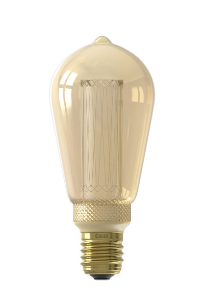 Calex E27 LED Lamp 3,5W (10W) (Lustre, Clear, Dimmable)