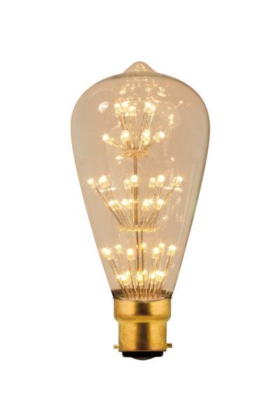 Calex B22 LED Lamp 2W (25W) (Lustre, Clear)