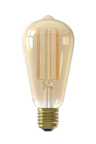 Calex E27 LED Lamp 4W (30W) (Pear, Clear, Dimmable)