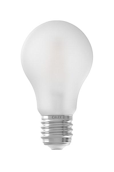 Calex E27 LED lampen 6,5W (50W) (Birne, Mattiert, Dimmbar)