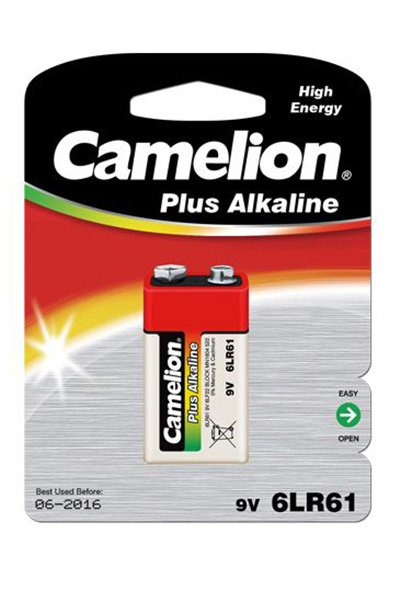 Camelion Plus Alkaline 1x 9V block battery