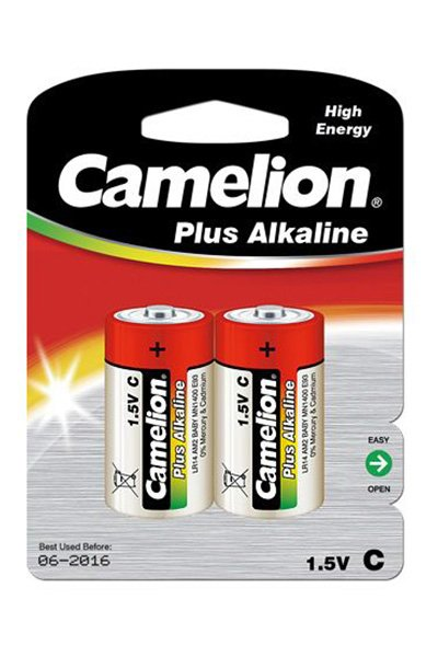 Camelion Plus Alkaline 2x C battery