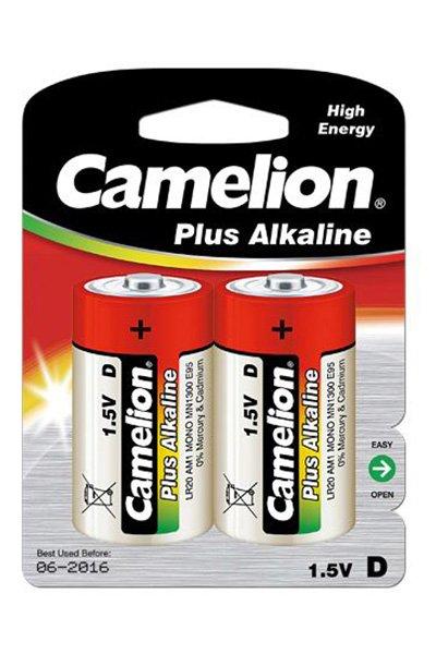 Camelion Plus Alkaline 2x D battery