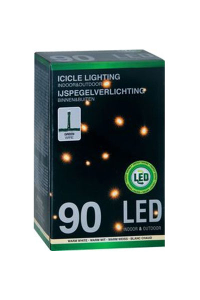 LED icicle lights (90 lamps)