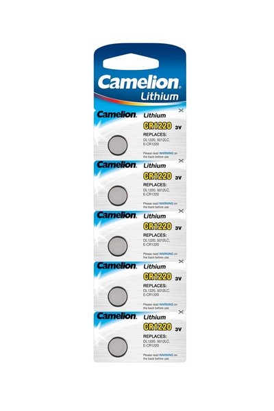 Camelion 5x CR1220 Coin cell (40 mAh)