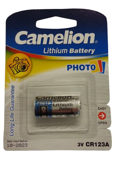 Camelion CR123A battery (1300 mAh)