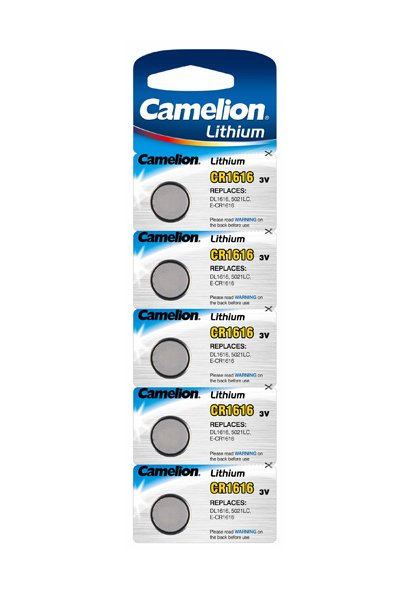 Camelion 5x CR1616 Coin cell (55 mAh)