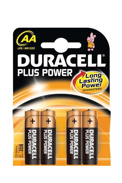 Duracell 4x AA battery