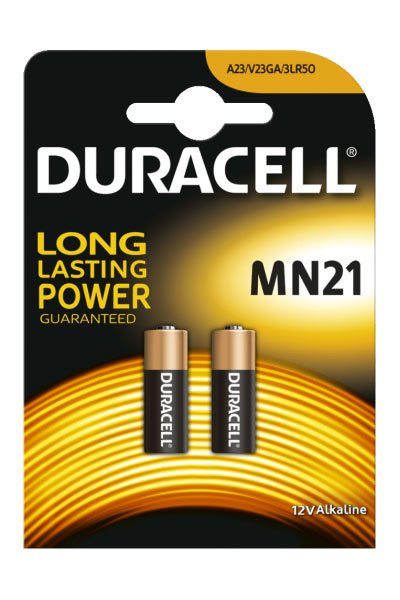 Duracell A23 battery (38 mAh)