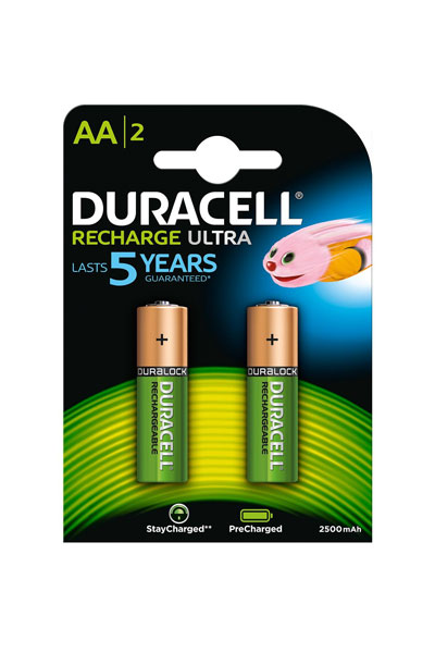 Duracell 2x aa battery