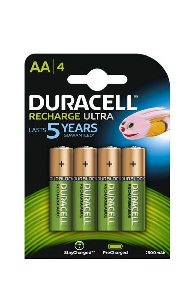 Duracell 4 x AA battery