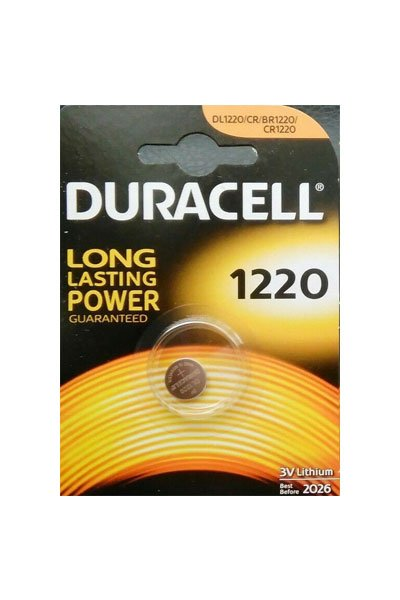 Duracell 1x CR1220 Coin cell (35 mAh)