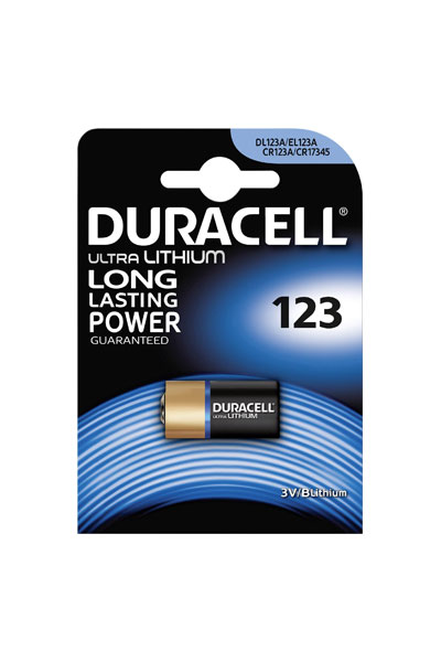 Duracell CR123A battery