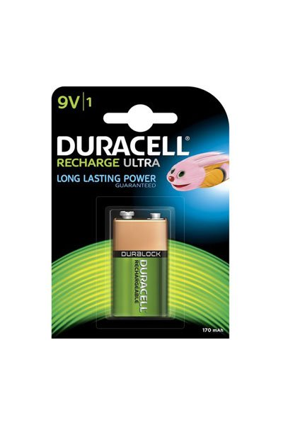 Duracell 9V block battery