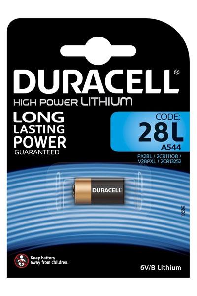 Duracell 1x 6V batería (160 mAh, Recargable)