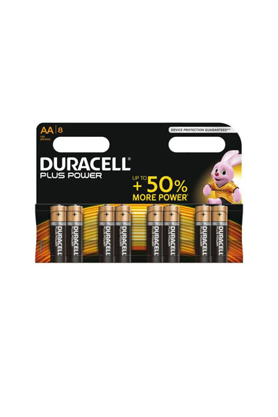 Duracell 8x AA battery