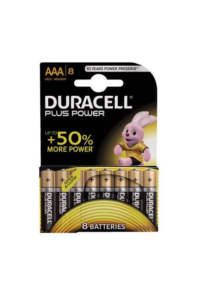 Duracell 8x AAA Batterie