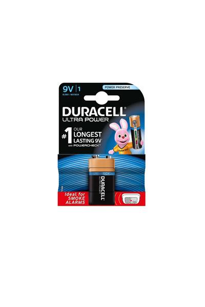 Duracell 9V block battery