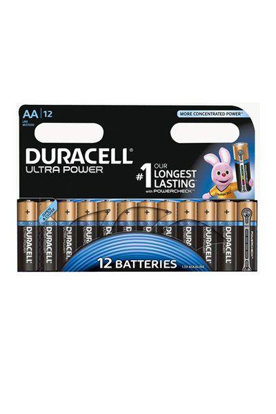 Duracell 12x AA Batterie
