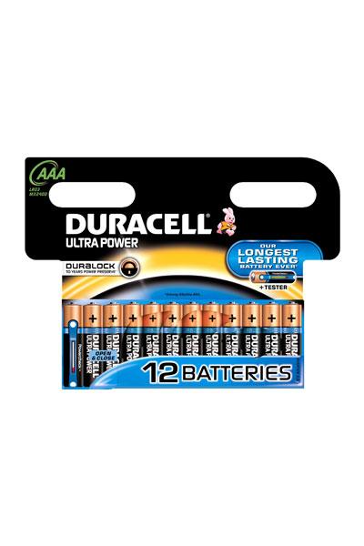 Duracell 12x AAA Batterie