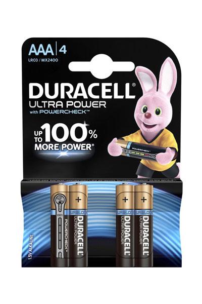 Duracell 4x AAA battery