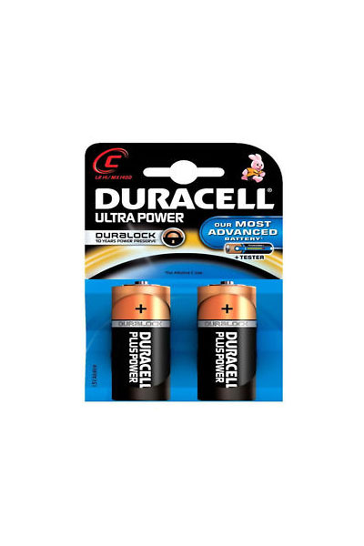 Duracell 2x C battery ( mAh)