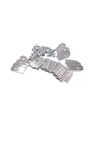Spare blades for robotic mowers 30 pieces (0.75mm, steel)