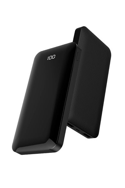 10000 mAh External battery pack (Black)