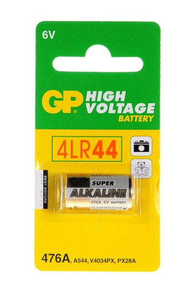 GP 1x 4LR44 battery (105 mAh)