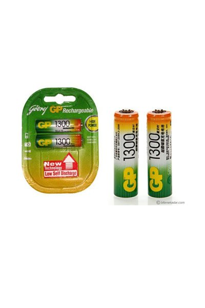 GP BO-GP-AA-1300-2 batteri (1300 mAh, Original)