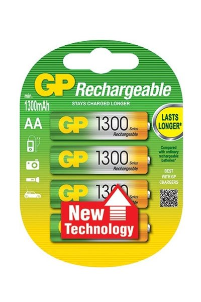 GP BO-GP-AA-1300-4 battery (1300 mAh, Original)