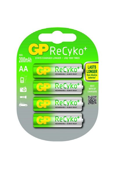 GP BO-GP-AA-2000-4 batteri (2050 mAh, Original)