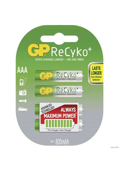 GP BO-GP-AAA-800-4 battery (850 mAh, Original)