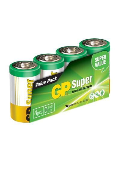 GP 4x D battery