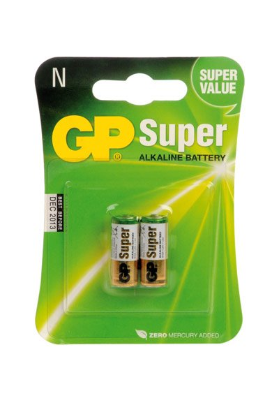 GP Plus Alkaline 2x LR01 battery