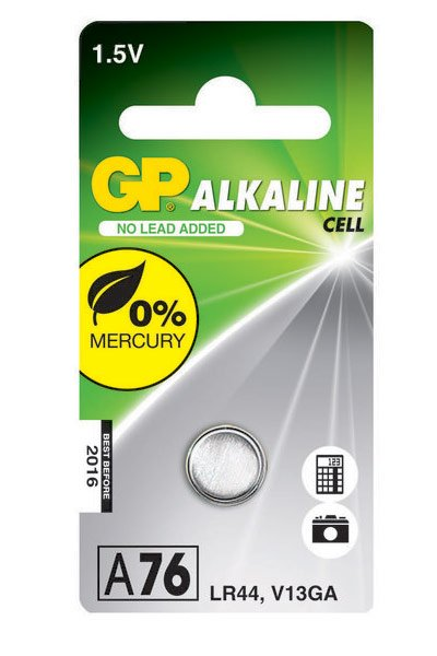GP 1x LR44 Coin cell (110 mAh)