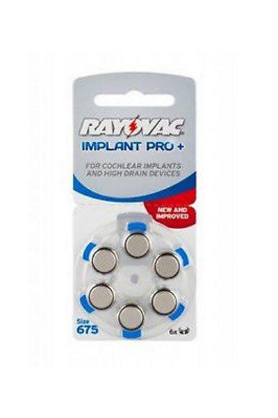 Rayovac H675 / PR44 batterie