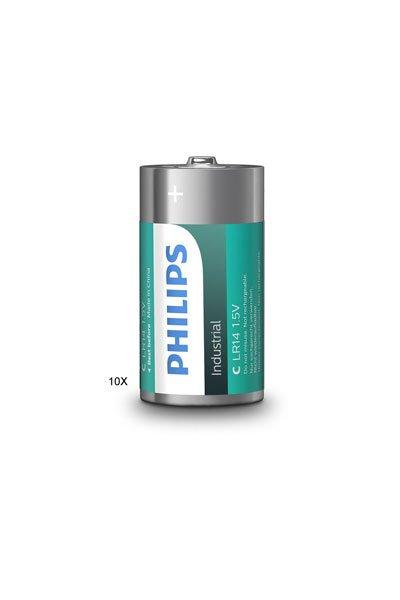 PHILIPS 10 x C batteria ( mAh)