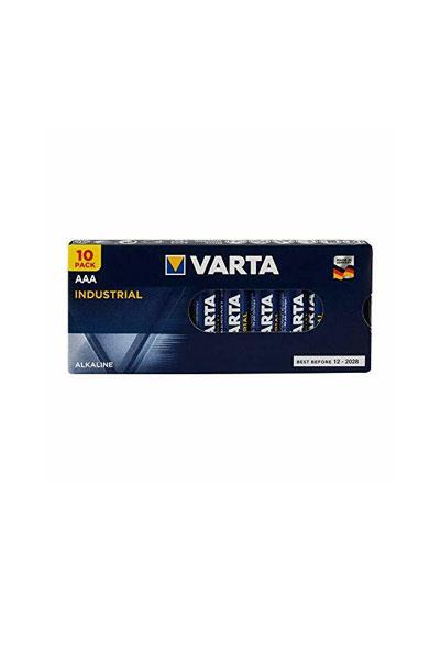 Varta 10x AAA battery