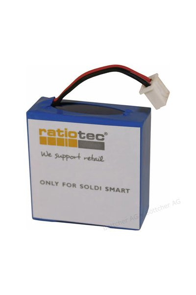 Ratiotec Batteri (600 mAh, Originalt) passende til Ratiotec Soldi Smart