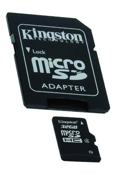 Kingston Micro SD (SDHC, Class 4) 32 GB