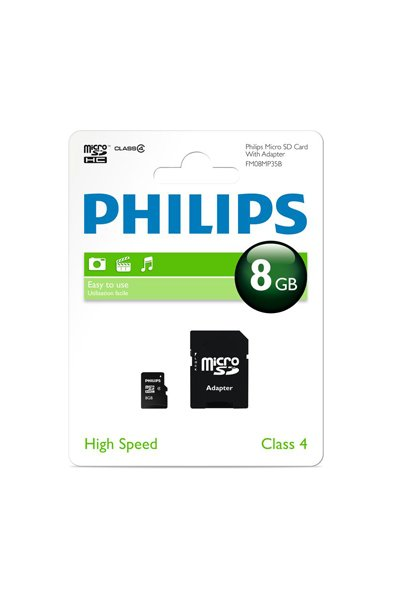 Philips Micro SD (SDHC, Class 10) 8 GB