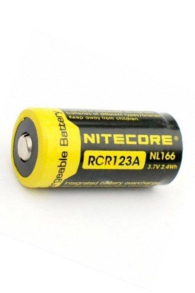 Nitecore 1x RCR123A battery